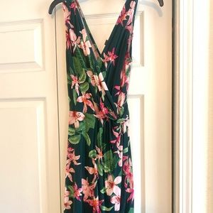 Green Floral Tommy Bahama Dress